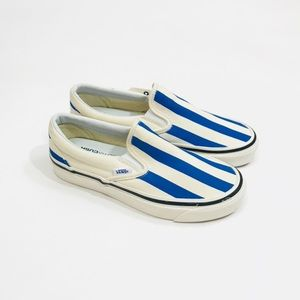 Vans Anaheim Factory 98 DX Striped Slip On Sneaker NWT